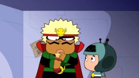 大大怪很生气,因为他明明是大盗的造型,却被说成是小偷!