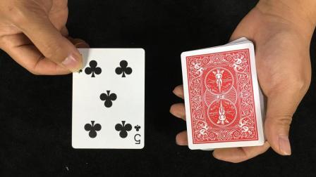 为什么手轻轻一晃扑克牌瞬间就变了