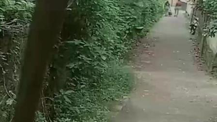 印度女子走进小巷里 发现前面男子不对劲 监控拍下了接下来发生的事情!