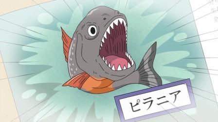 樱桃小丸子 1165 食人鱼闻到血味就会兴奋?前一天不慎受伤的藤木不知所措