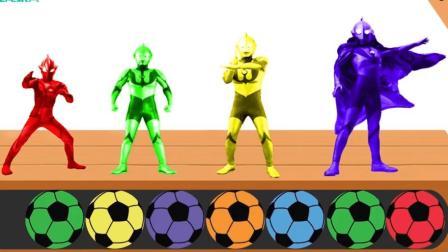 咦? 奥特曼为什么是黄色的呢? 原来是教大家色彩认知呢!