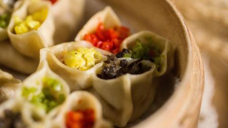 向往的生活黄磊做过的四喜饺子, 5分钟包学包会, 颜值高做法简单