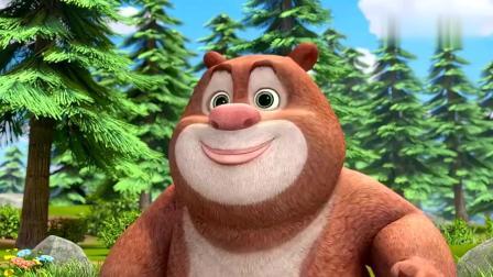 熊熊乐园 熊二撒娇不想上幼儿园非要妈妈陪 熊大他去上学!