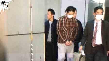 蒋劲夫在日被扣押 直击警局现场