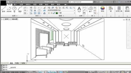 CAD视频教程, 十分钟带你学习CAD是呗设计知识点——绘制双开门