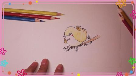 小鸟 小鸟笔画 简笔画 简笔画教程