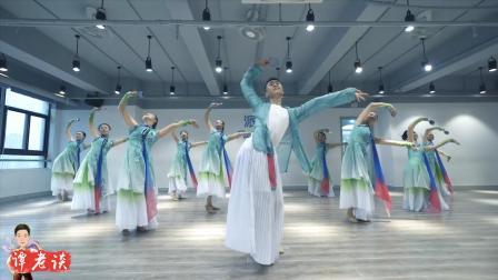 郭老师指导的舞蹈《碧海佳人》, 柔而不媚, 尽显古典之美