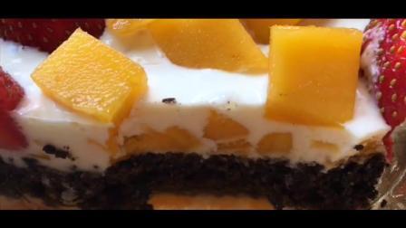 不会做蛋糕? 跟着网友学一天学会芒果布丁蛋糕