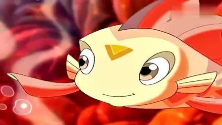 小鲤鱼历险记: 泡泡和阿酷快要放弃了, 却突然听到了真龙的鼓励