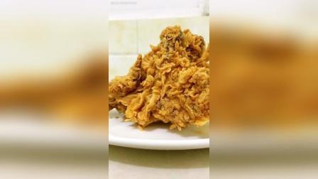 脆皮炸鸡如何挂鳞