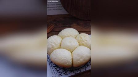 教你用电饭煲做奶香馒头, 比面包还好吃!