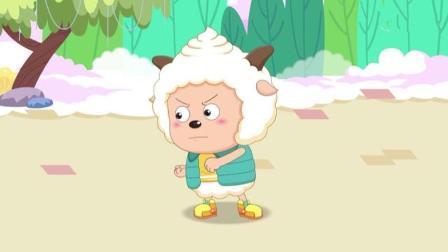 """懒羊羊穿上了小希的""""黑科技""""鞋, 下一刻秒后悔!"""