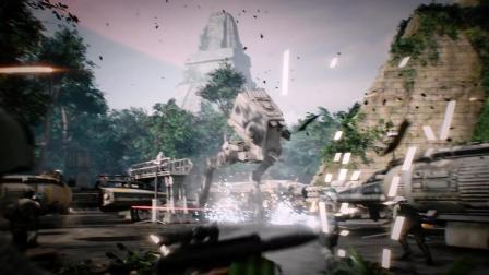 【1080P】克隆人战争 史诗预告公布! 《星球大战: 前线2》吉奥诺西斯战役预告!
