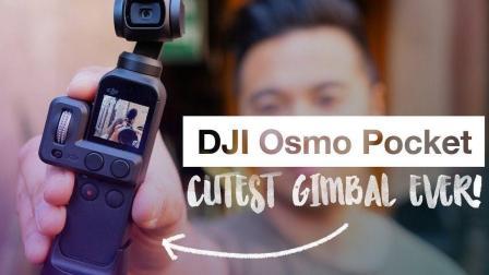 大疆又出新招, DJI Osmo Pocket 快速上手 最可爱的稳定器!