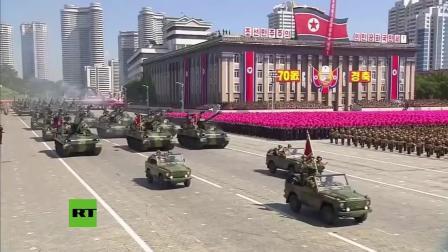朝鲜70周年大阅兵-各种方阵