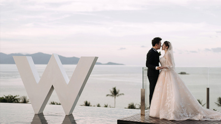 「AWPA获奖作品」 泰国苏梅岛W酒店婚礼