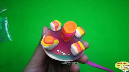 用太空泥制作一个美味的蛋糕, 步骤简单, 赶紧来学习一下吧