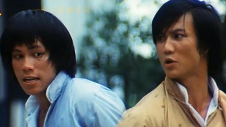 香港功夫明星梁小龙和黄元申主演的抗日电影《生龙活虎小英雄》