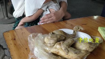 漳州云洞岩: 一只盐鸡卖25块, 我喜欢和四果汤一起吃