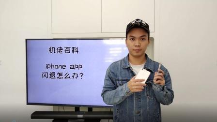 苹果手机解决闪退