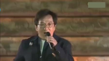 这才是殿堂级歌手, 一首《男儿当自强》成龙也忍不住跟着合唱
