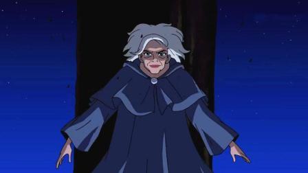 少年骇客: 超能力老太太, 魟人登场, 她也只是当玩游戏而已!