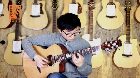 南京芬格琴行李老师 亚伯拉罕星语心愿1.0单板吉他评测试听 靠谱吉他合作伙伴