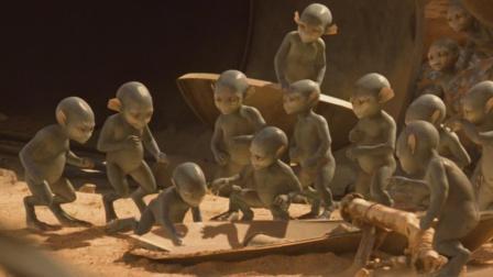 外星人并没有那么高智商, 人类一命令, 它们像宠物一样, 太可爱了!