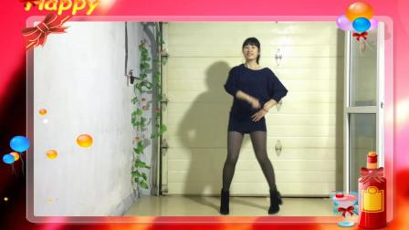 美女蔡家堡杏子快乐演绎《爱情天注定》好美