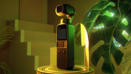大疆DJI 灵眸 Osmo Pocket 口袋手持云台相机 - 结构紧凑, 便携易用