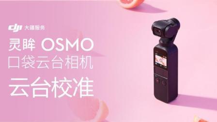 大疆DJI 灵眸OSMO Pocket 口袋云台相机 教程 - 云台校准