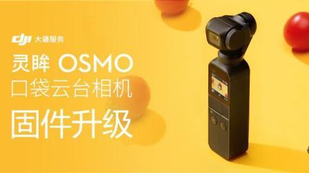 大疆DJI 灵眸OSMO Pocket 口袋云台相机 教程 - 固件升级