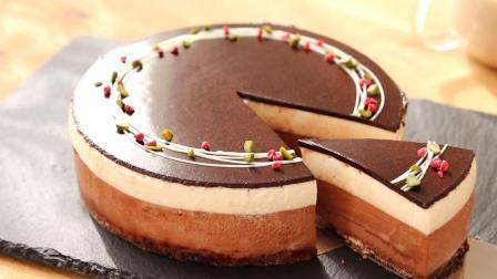 香浓巧克力慕斯蛋糕, 口感浓郁顺滑的巧克力甜点