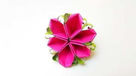 折纸王子折纸孪生花