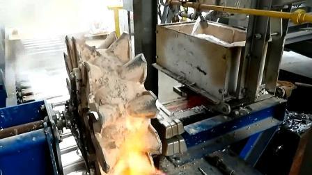 工厂自动熔炼金属铝, 生产线制作铝锭过程, 涨知识!
