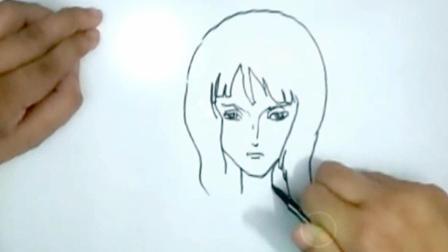 刘松手绘海贼王: 她是路飞身边最性感的女神, 没有之一!