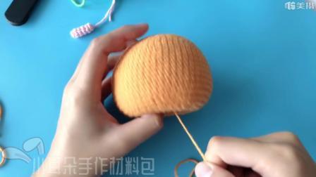 圣诞平安果苹果编织教程