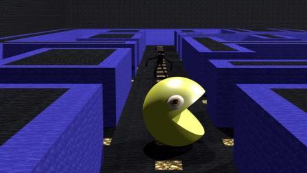 吃豆人: 游戏动画, 怪物学校: 帕克曼挑战-我的世界动画
