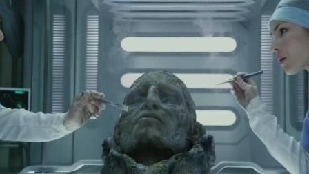 科学家探索外星球, 意外发现头颅, 推测这个头颅