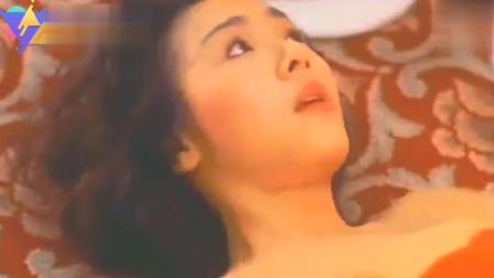 香港经典电影: 叶子楣从楼梯上摔下的姿势好尴尬啊, 真的太棒了, 饱眼福