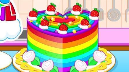 五颜六色的蛋糕益智游戏