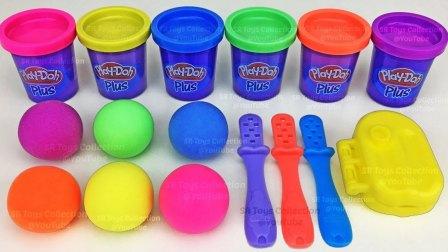 制作3个冰淇淋和学习数字 惊喜玩具惊喜蛋玩具