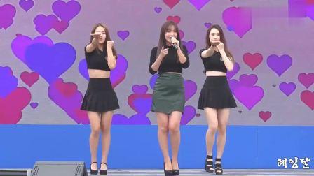 韩国撒娇女王洪真英, 现场演唱歌曲《爱情电池》