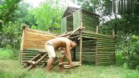 农村兄弟二人做了五平米的屋子, 感觉有点像私人度假区