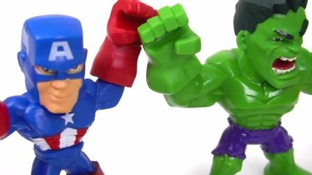超级英雄钢铁侠绿巨人美国队长拆装玩具