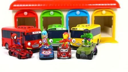 小公交太有被包围, 超级英雄及时赶来救援
