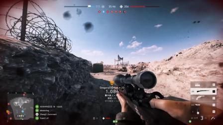 当2000小时绝地求生玩家 在战地5拿起98K之后!