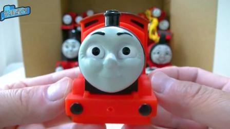 托马斯红色系列小火车头 表情呆萌可爱快来围观吧