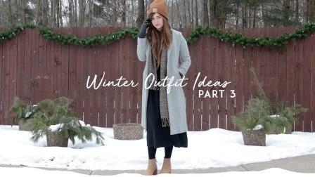 冬天衣服可以不用买太多,几件基本款就够了 6套冬日基本款穿搭