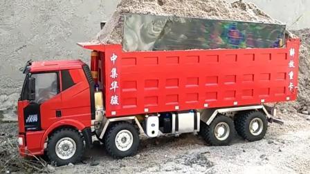 玩具车: 这大货车真没少拉啊 这一趟能给多少钱?